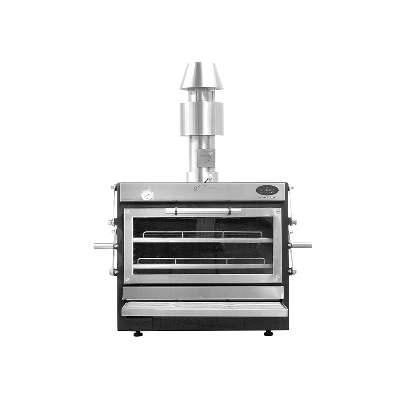 Pira 90 LUX Inox ED (with chimney kit only)